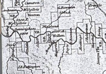hunter valley settler rev john mcgarvie map