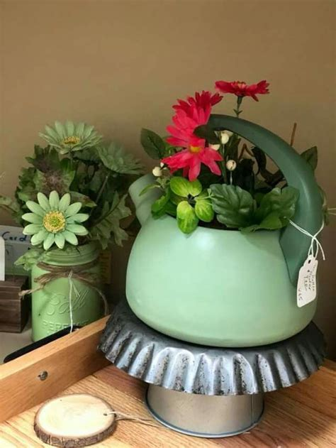 pin  karen young  repurposed planter pots planters