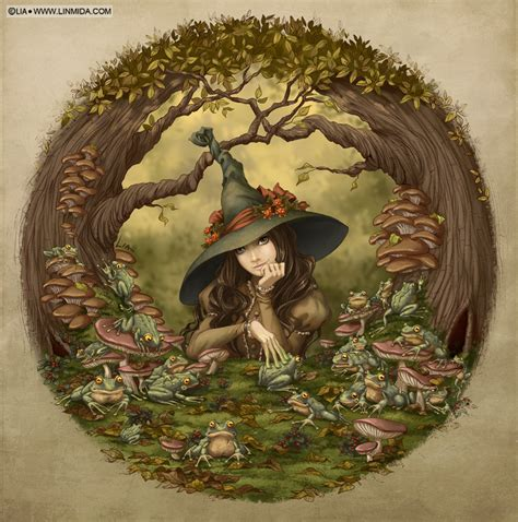 frog witch  liaselina  deviantart  images