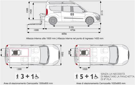 Dimensioni Interne Fiat Scudo by Fiat Dobl 242 Xl Con Sollevatore Fiorella Per Trasporto