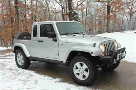 jk8 jeeps for sale buy used 2007 jeep jk8 truck by owner in springfield