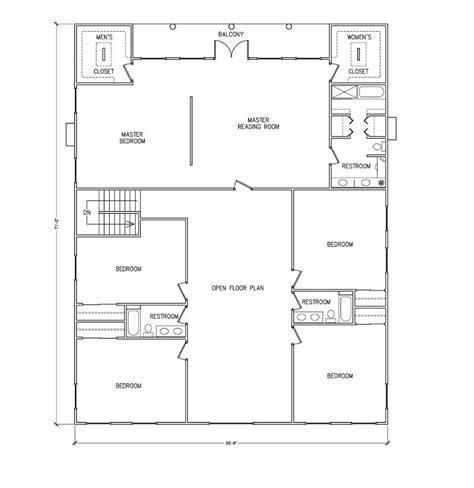 plans for building a house barndominium floor plans 40x50 metal building house