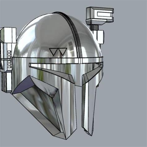 mandalorian helmet 3d print infantry heavy paz vizsla printer templates file