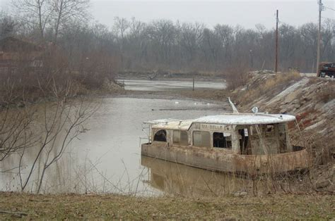 Old Boat House For Sale by Ma Belle Houseboat