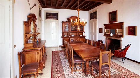arredamento sala da pranzo residence antique dining solid walnut 800 renaissance but