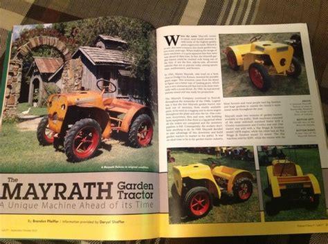 lawn and garden magazine rare garden tractors home