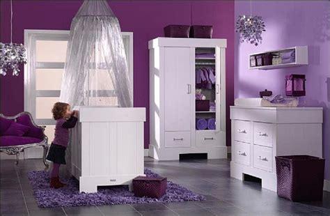 deco chambre bebe fille violet deco chambre bebe blanc violet