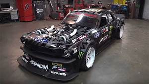 20 Minutes With Ken Block's Bonkers 1,400-HP AWD Mustang