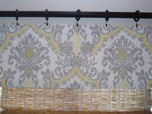 waverly curtains waverly bedazzled yellow grey damask kitchen