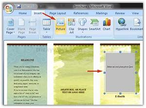 create brochure in word 2007 or 2010 make brochure With how to get a brochure template on microsoft word 2010