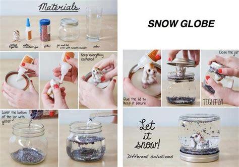 christmas craft for younsters boule de neige a faire soi m 234 me pour noel de images idees32