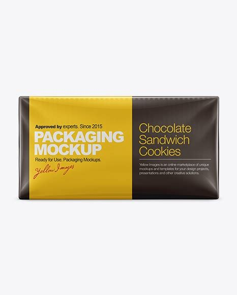 Snack cardboard tube for snacks/chips mockup in a front point of view, you can share general branding projects for brands or various flavor designs. Crackers Packaging PSD Mockup | Sell Mockups Online