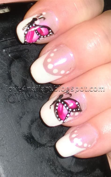 breath  butterfly nail designs pretty designs