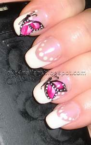 Clear Nail Designs With Flowers 16 Breath Taking Butterfly Nail Designs Pretty Designs