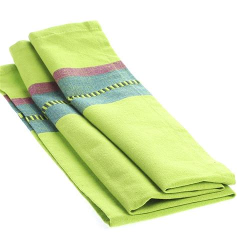 lime green kitchen towels lime green dobby striped cloth dish towel kitchen towels 7106