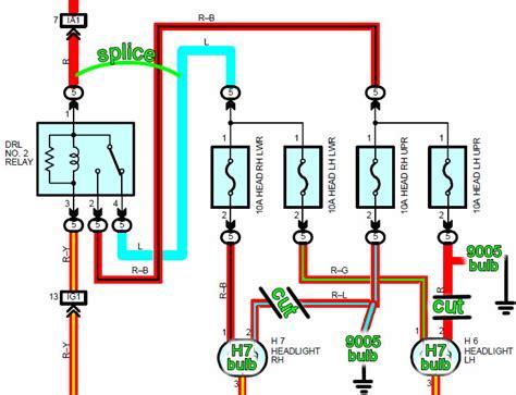 wiring diagram for spyder headlights eat sleep tinker mr2 spyder headlight conversion 03 into 00
