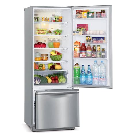 Glass Door Refrigerator Freezer For Home Fridge 390 L Bottom Mount Mitsubishi Electric Australia