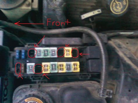 ford thunderbird questions  fuses   cargurus