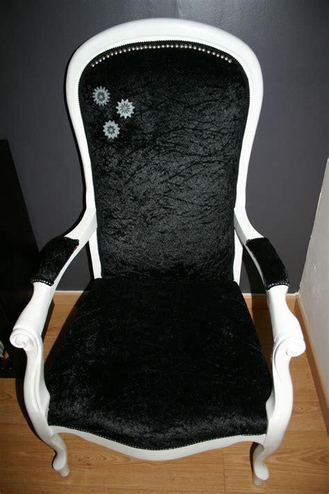 chaise voltaire ancien chariot industriel