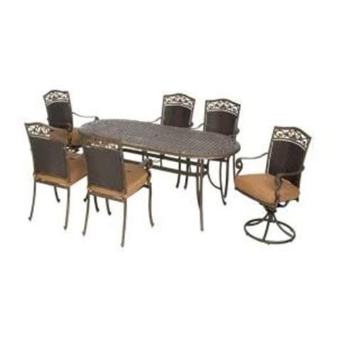 miramar ii 7 patio dining set with cushions