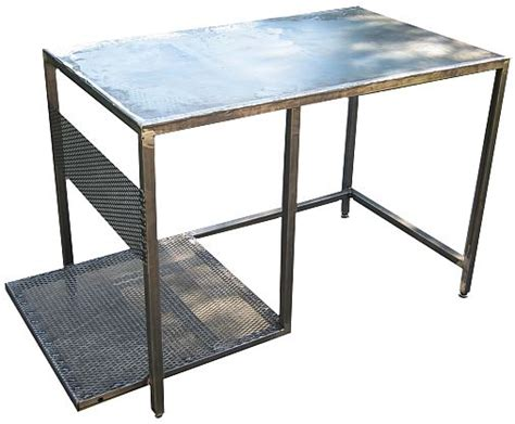 steel welding table plans free plans how to make a welding table