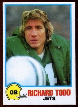 richard todd  holsum bread  vintage football