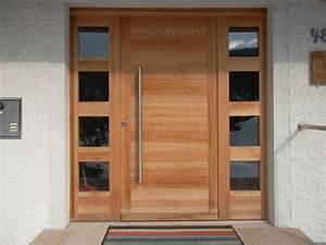 Haustür Holz Modern : individuell gefertigte haust re aus massivholz umbau haust r pinterest haust ren ~ Sanjose-hotels-ca.com Haus und Dekorationen