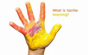 Tactile Learning: How Your Child Learns through Touch and ...