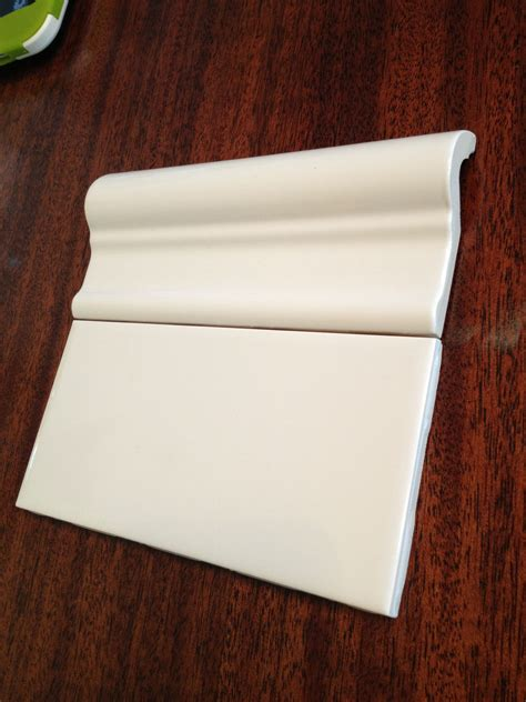 Option 1 Home Depot Subway Tile Cap, Victoria Chair Rail