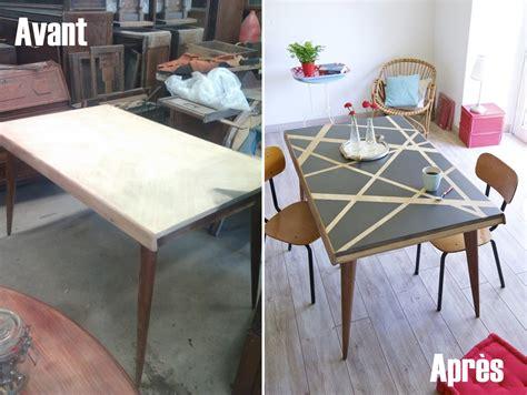 Relooker Une Table Avec Des Effets Graphiques