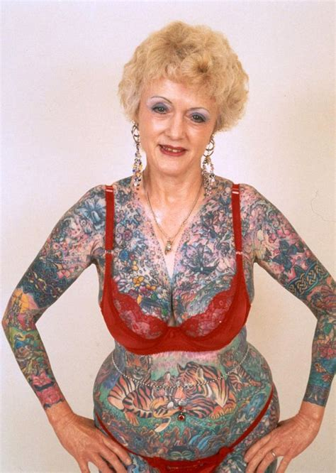 isobel varley world s most tattooed female pensioner dies aged 77 mirror online