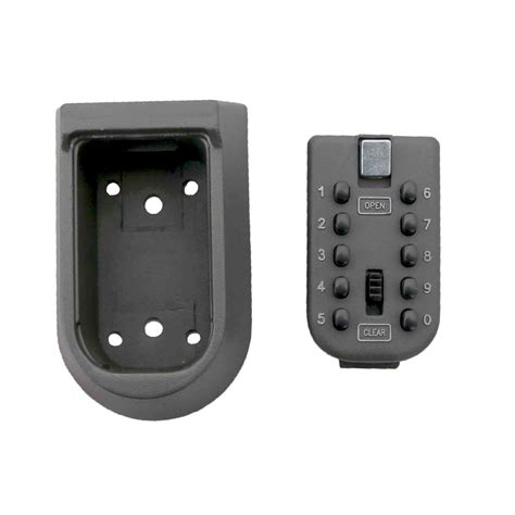 Wall Mounted Push Button Key Safe Storage Cabinet Secure