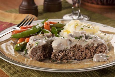 recipes for chopped skillet chopped steak mrfood com