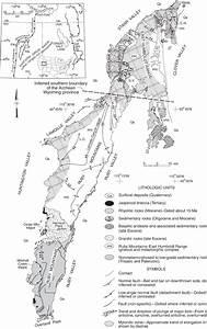 Geological Map Of The Ruby Mountain  Rm  U00b1east Humboldt