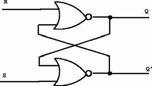 flipflop beginner trying to understand flip flops With sr latch circuit