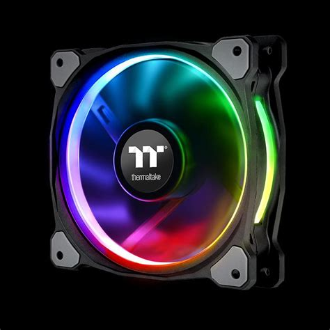 best static pressure rgb fans riing plus 12 rgb radiator fan tt premium edition 3 fan