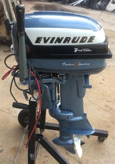 Outboard Bass Boat Motors by 1956 30 Hp Evinrude Outboard Antique Boat Motor For Sale
