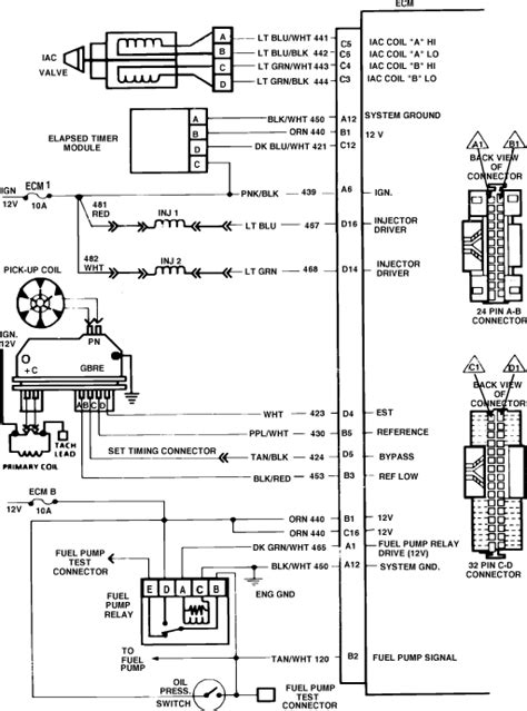 S10 Power Window Wiring Diagram by Why Does My Ecm Fuse Keep Blowing On My 1986 Chevy S 10