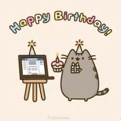 pusheen cat birthday happy birthdayyy we it pusheen happy