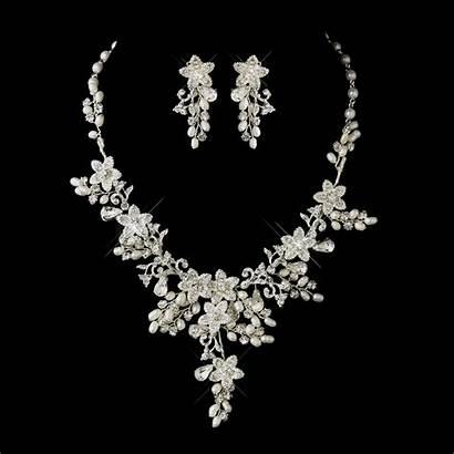 Jewelry Bridal Sets Pearl Rhinestone Glamorous Floral