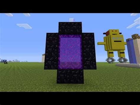how to make a nether portal in minecraft pc ps4 how to make a nether portal in minecraft 2017 Nether