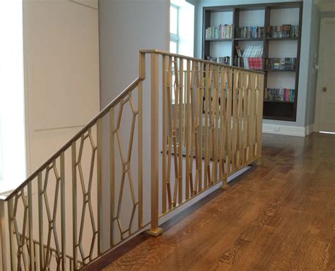 Railing Stairs And Kitchen Design