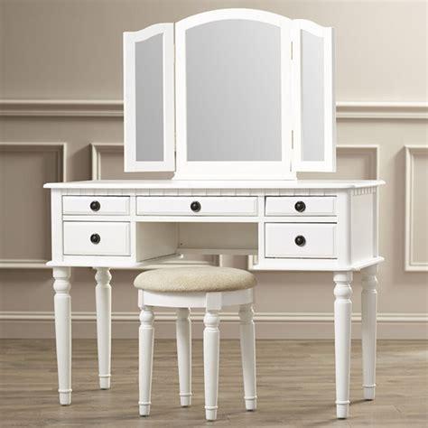 vanity with stool vanity set with mirror stool seat white bedroom makeup