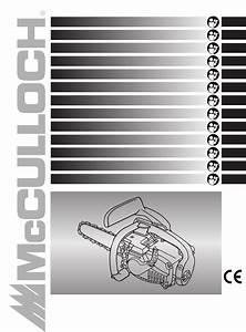Mcculloch Chainsaw 33 User Guide