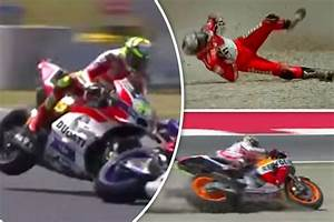 Grand Prix Moto Barcelone 2015 : motogp watch video of worst catalunya crashes at spanish grand prix daily star ~ Medecine-chirurgie-esthetiques.com Avis de Voitures
