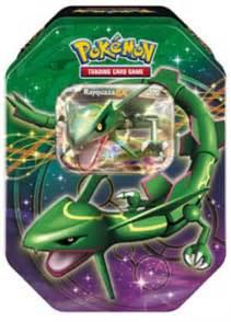 pokemon tin box 32 rayquaza ex pokemon ex tin box legenden