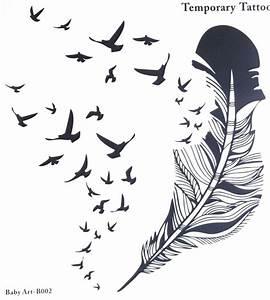 Pusteblume Schwarz Weiß Vögel : die besten 10 feder vogel tattoos ideen auf pinterest kleine m dchen t towierungen ~ Orissabook.com Haus und Dekorationen