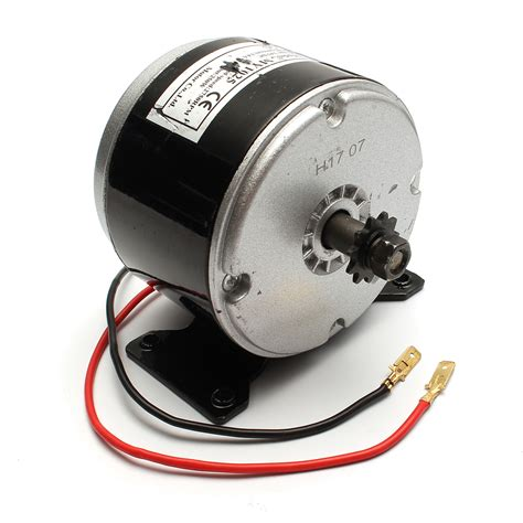 Motor Electric 24v by 24v 200w 2750 Rpm Electric Brushed Bike Scooter Motor