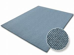 Treppen Teppich Läufer : blauer teppich in sisal optik ~ Michelbontemps.com Haus und Dekorationen