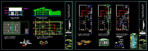 housing guadua dwg block  autocad designs cad